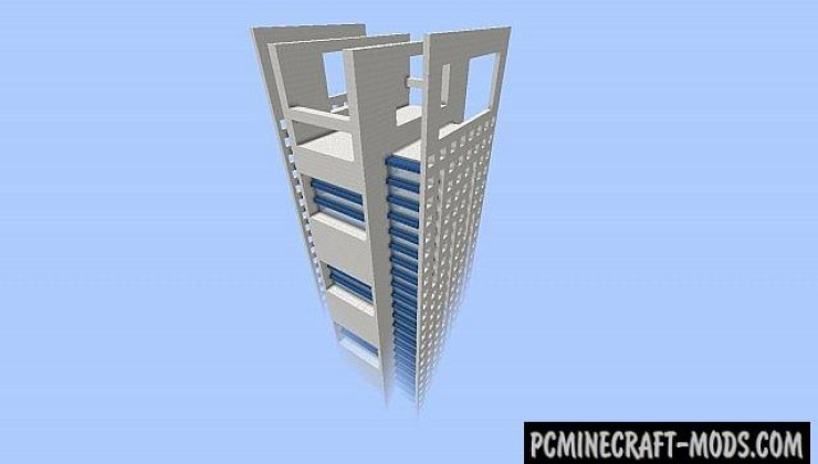 Skyscraper #1 Map - Building For Minecraft