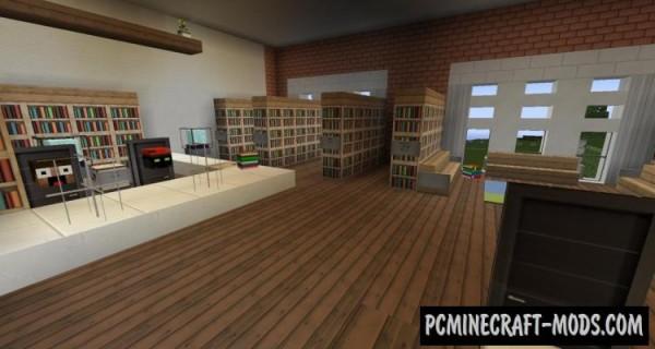 Ironhurst Elementary School Map For Minecraft
