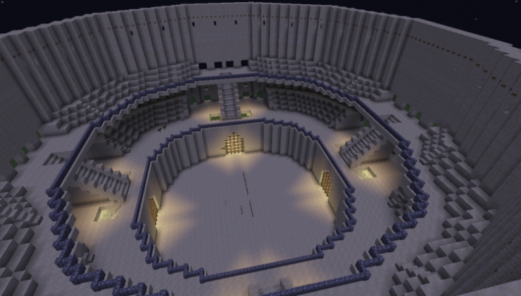 Colosseum - Building, Arena Map For Minecraft