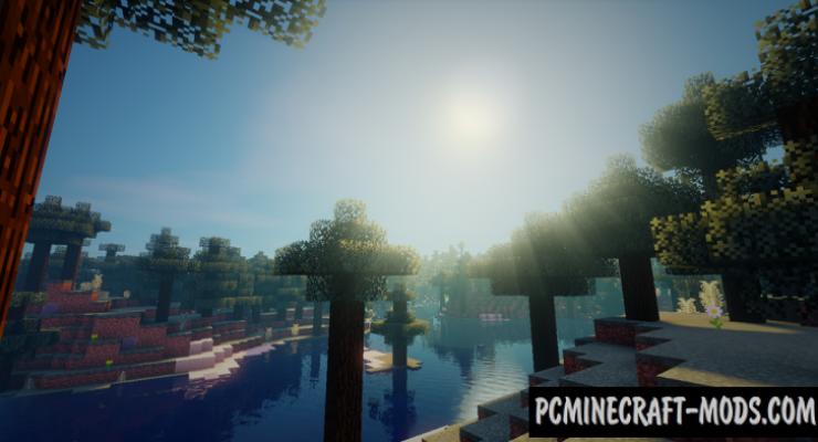Ziipzaap's Shader Pack Mod For Minecraft 1.8.9, 1.7.10, 1.6.4