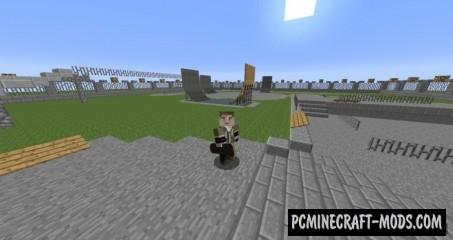Skateboarding - Minigame Map For Minecraft