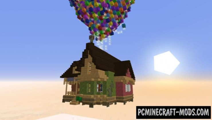 Pixar Up House Map For Minecraft