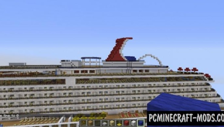 Carnival Breeze Cruise Ship Map For Minecraft