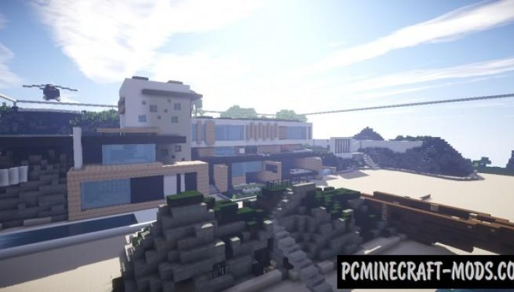 Maison Moderne Map For Minecraft 1 15 2 1 14 4 Pc Java Mods