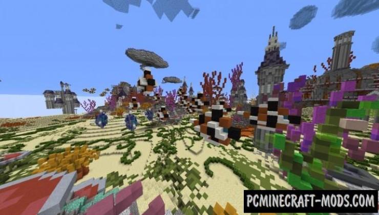 Massive MarineHaven - City Map For Minecraft