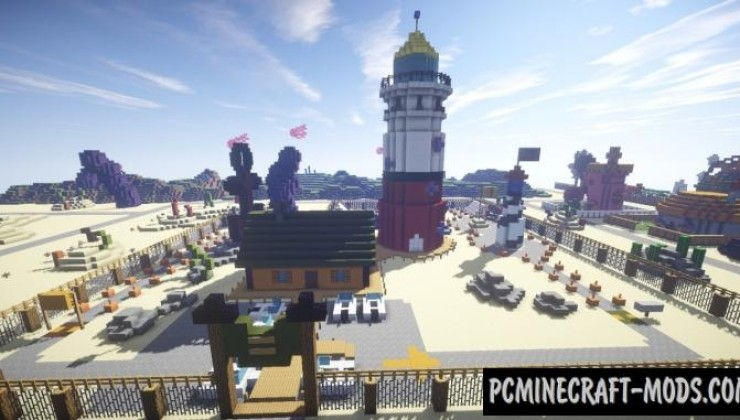 Bikini Bottom - City Map For Minecraft