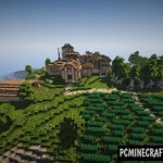 Chinese Ancient Architecture 3 Map For Minecraft