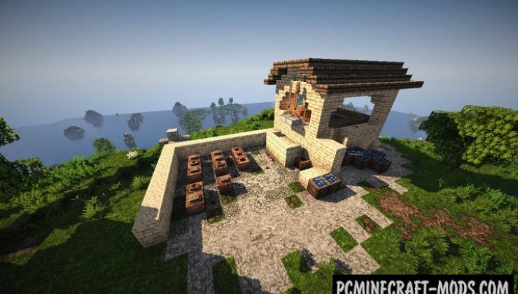 Roman Villa - Building, House Map For MC