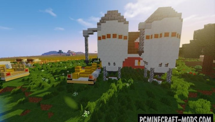 The Farm - House Map For Minecraft