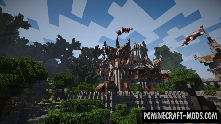 Valkyrin Fortress Map For Minecraft 1 15, 1 14 4 | PC Java Mods