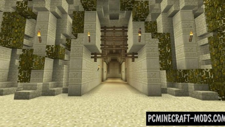 Desert Fortress - Castle Map For Minecraft