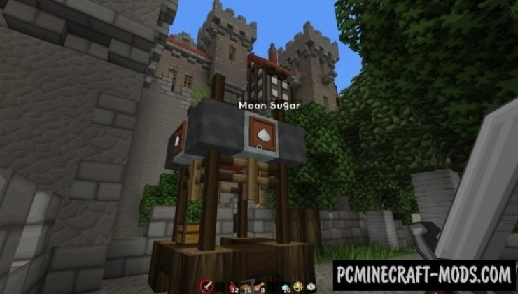 Oakhold - City, Castle Map For Minecraft