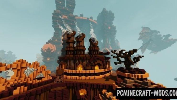Pumpkin Factory - Castle Map For Minecraft
