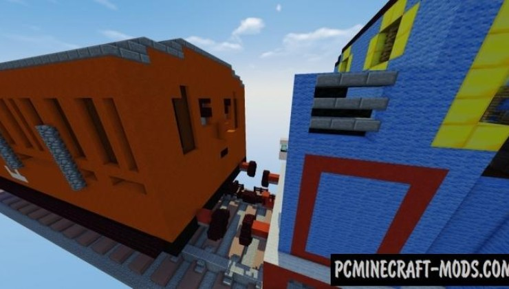 Thomas the Tank Engine Map For Minecraft