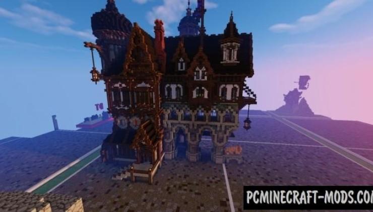 Medieval Playerhome - Mansion Map Minecraft