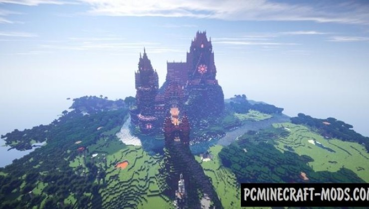 Pretty 'n Pink - Castle Map For Minecraft