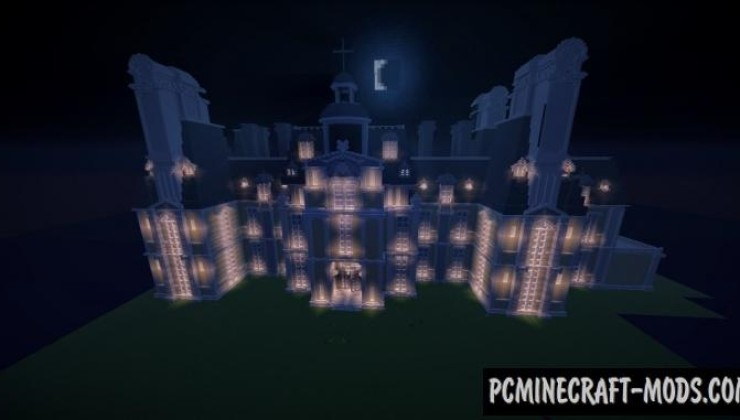 Heartfilia Mansion - Building Map For Minecraft