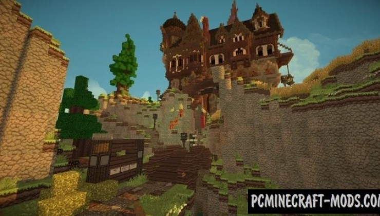 Medieval Playerhome Map For Minecraft