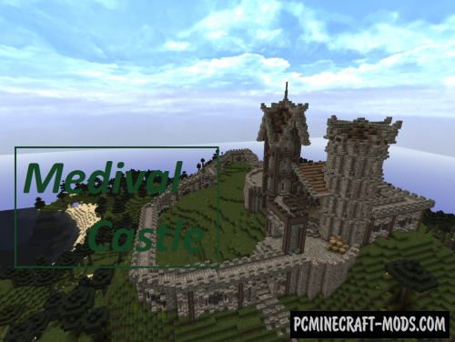 Medieval Castle - Survival Map For Minecraft