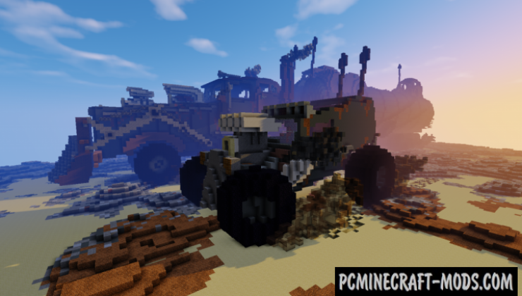The War Rig Map For Minecraft