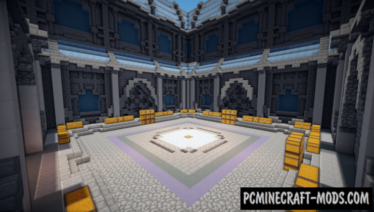 Frozen Prison Spawn Map For Minecraft
