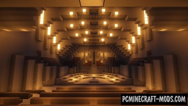 ONO City Opera House Map For Minecraft
