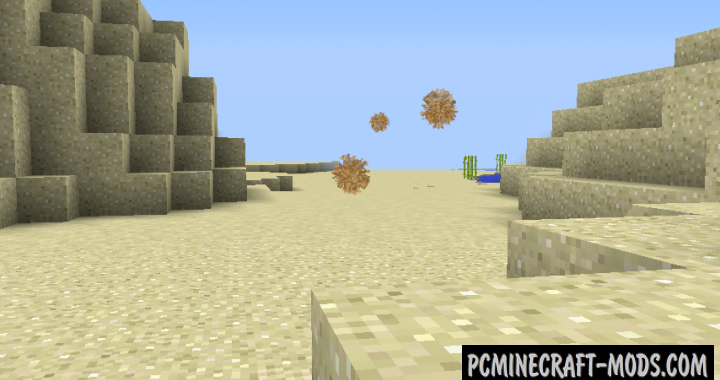 Tumbleweed Mod For Minecraft 1.12.2, 1.11.2, 1.10.2, 1.7.10