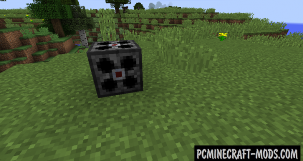 Particle Generator - Technology Mod For Minecraft 1.12.2