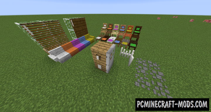 How 'Bout That Furniture Mod For Minecraft 1.12.2, 1.11.2