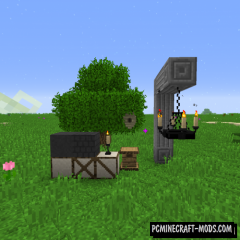 Rustic - Decoration Mod For Minecraft 1.12.2