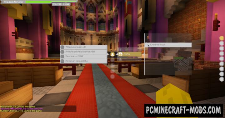 Sword Art Online UI Mod For Minecraft 1.10.2, 1.9.4, 1.8.9, 1.7.10