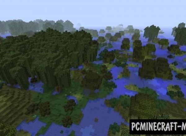 Realistic Terrain Generation - Biomes Mod For Minecraft 1.12.2