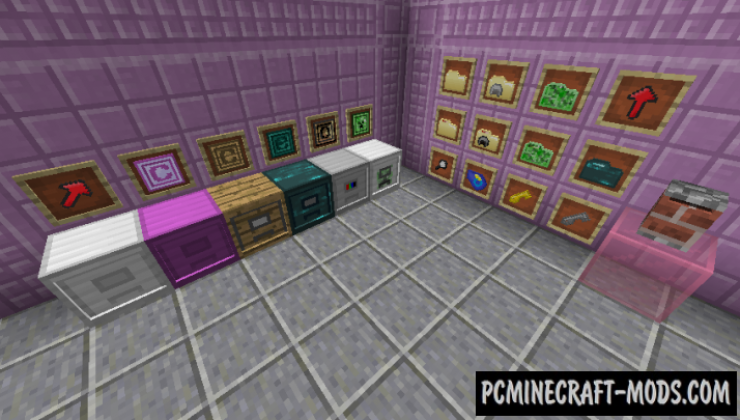 Real Filing Cabinet Mod For Minecraft 1.12.2, 1.11.2, 1.10.2