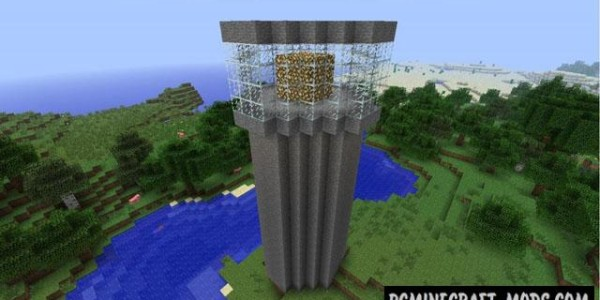 Instant Massive Structures Mod Minecraft 1.9.4, 1.8.9, 1.7.10