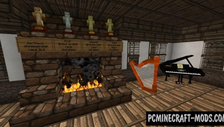 DecoCraft Mod For Minecraft 1.12.2, 1.11.2, 1.10.2, 1.8.9