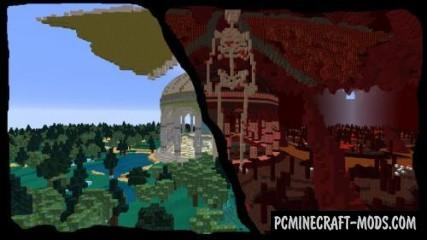Dimension Jumper 2 Map For Minecraft