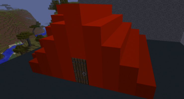 Flat Colored Blocks Mod For Minecraft 1.12.2, 1.10.2, 1.8.9