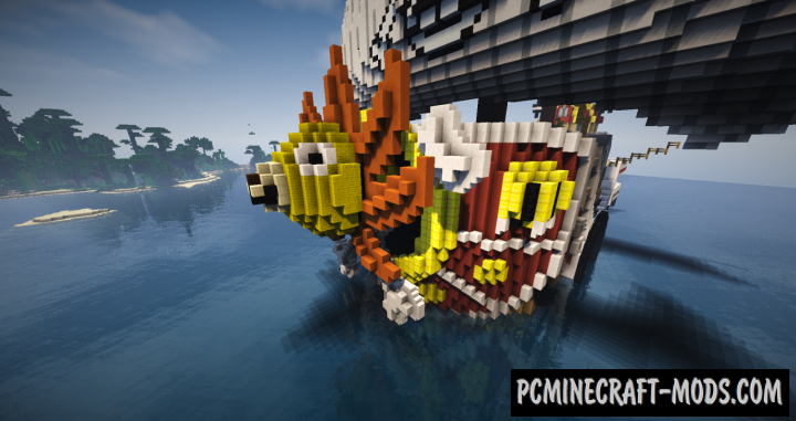Thousand Sunny Map For Minecraft