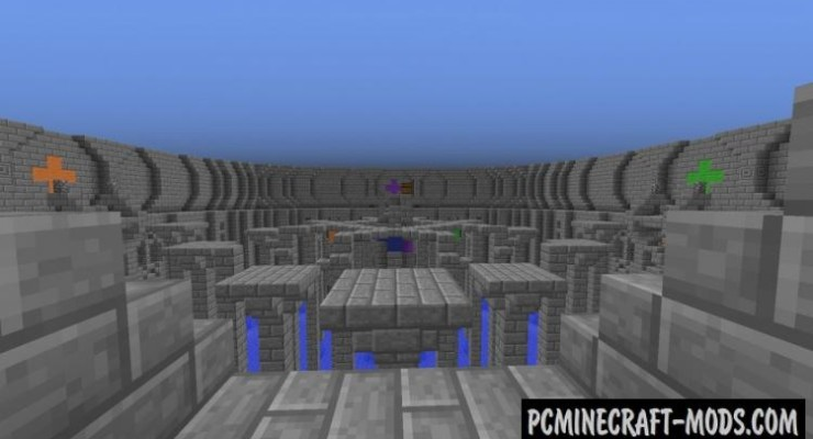 Last Man Standing PVP Arena Map For Minecraft