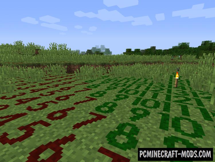 Light Level Overlay Reloaded Shader Mod For Minecraft 1.14.4, 1.14.3