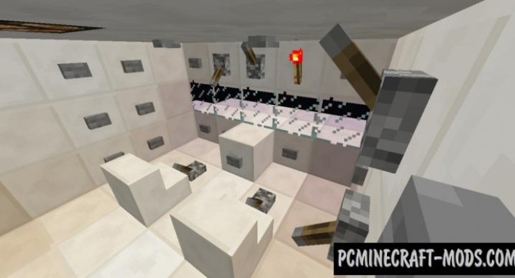 Plane Crash: Stranded - Surv Map For Minecraft