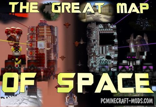 The Great Map of Space Map - Adventure For MC