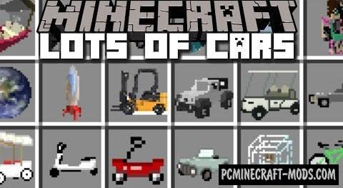 Vehicle Mod For Minecraft 1.7.10