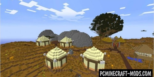 The Safari - An African Adventure Map For Minecraft