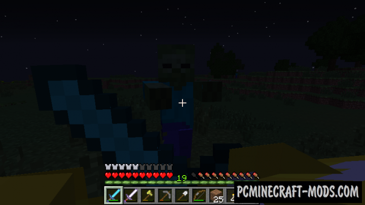 Real First-Person Render Mod For Minecraft 1.12.2, 1.11.2, 1.10.2, 1.9.4