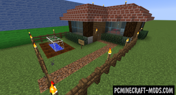 Prefab - New Insta House Mod For Minecraft 1.15.2, 1.14.4