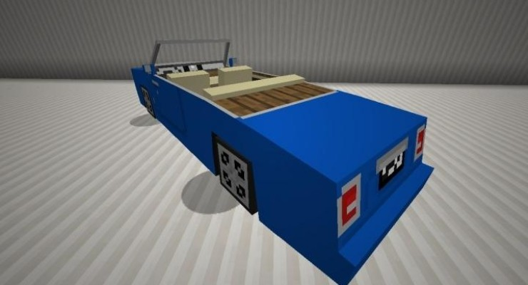 Spino's Vehicles Mod For Minecraft 1.7.10