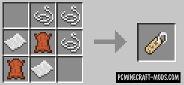Craftable Saddles - Armor Mod For Minecraft 1.15.2, 1.14.4