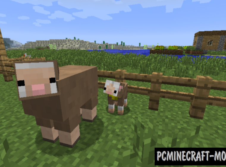 Baby Animals - Tweak Mod For Minecraft 1.14.4, 1.12.2, 1.7.10