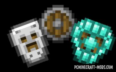 Spartan Shields Mod For Minecraft 1.12.2, 1.11.2, 1.10.2